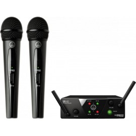 AKG WMS 40 MINI2 VOCAL SET DUAL Bezdrátový systém