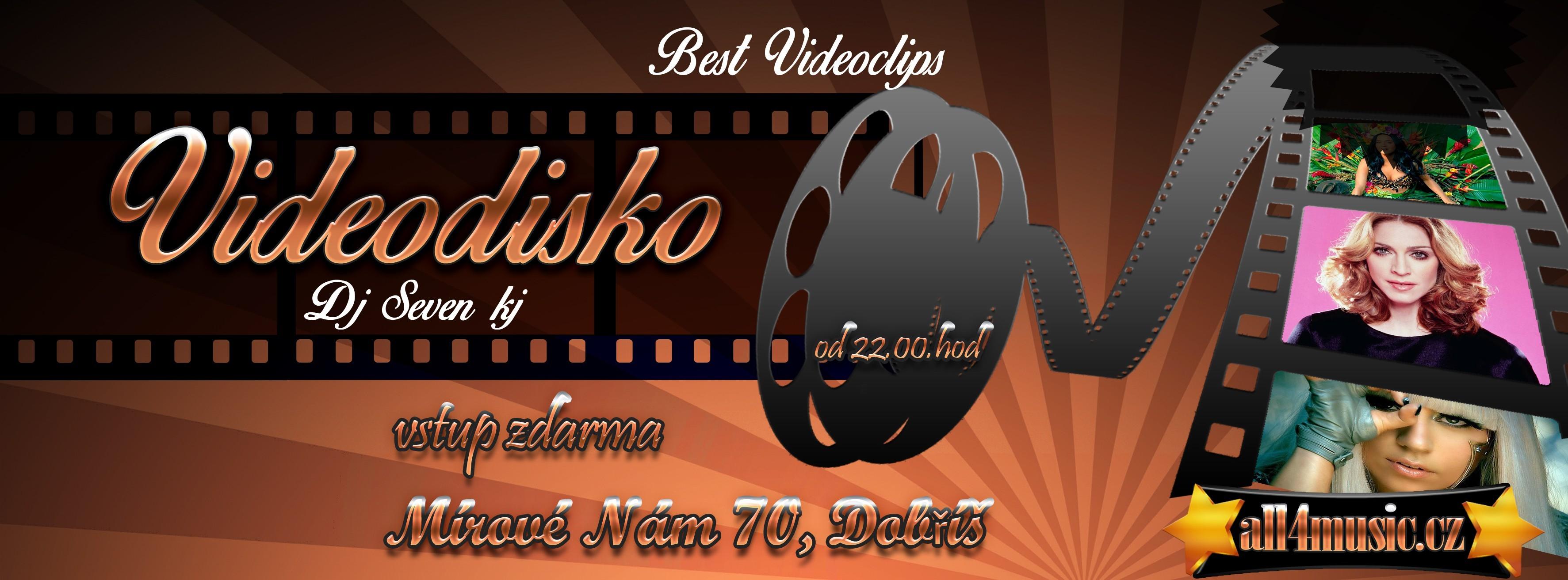Videodisco 80s 90s dj ALL4MUSIC Praha
