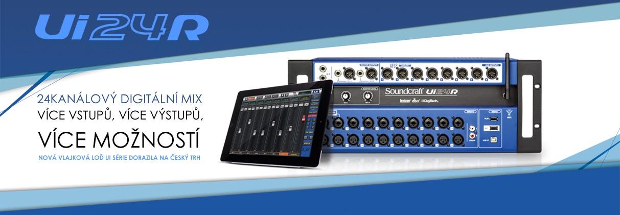 Digitální mixpult Soundcraft Ui24R
