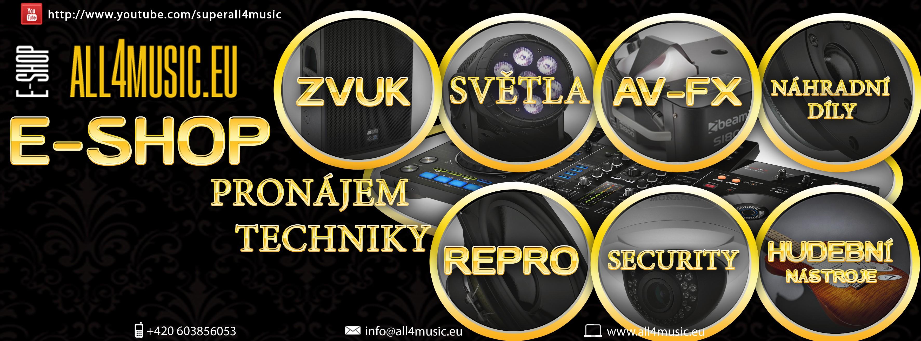 Videodiskotéka,Karaoke,Speciální effekty Praha ALL4MUSIC