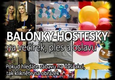 BALÓNKY-HOSTESKY-DEKORACE