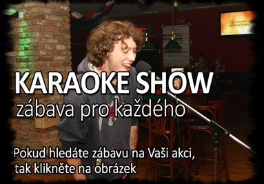 KARAOKE SHOW - KARAOKE PARTY PRAHA