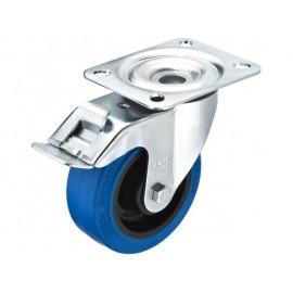 Kolečko pro reproduktor s parkovací brzdou Monacor GCBB-100B, Ø 100 mm, nosnost (max.): 150 kg, 1 ks