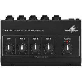 Mikrofonní předzesilovač Monacor MMX-4