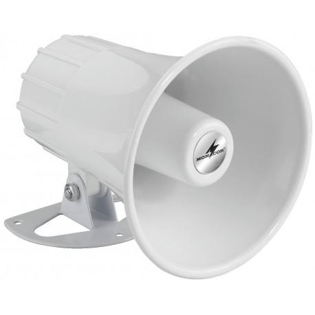 Tlakový reproduktor Monacor NR-22KS, 15 W, bílá, 1 ks