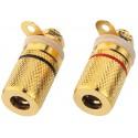 Připojovací reproduktorová svorka Monacor BP-250G