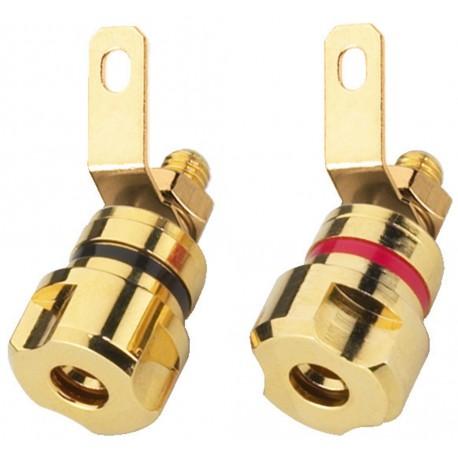 Připojovací reproduktorová svorka Monacor BP-405G