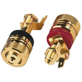 Připojovací reproduktorová svorka Monacor BP-520G
