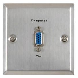 AV:link VGA zásuvka, ocelová